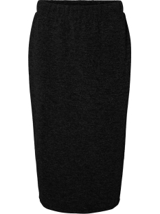 Vero Moda Rok VMEAST NW CALF SKIRT JRS 1022210 Black/SOLID