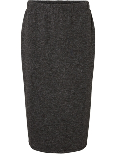 vmeast nw calf skirt jrs 10222100 vero moda rok dark grey melange