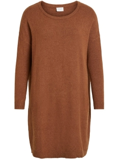 Vila Tuniek VIRIL L/S KNIT TUNIC-FAV NX 14055882 Caramel Cafe/MELANGE