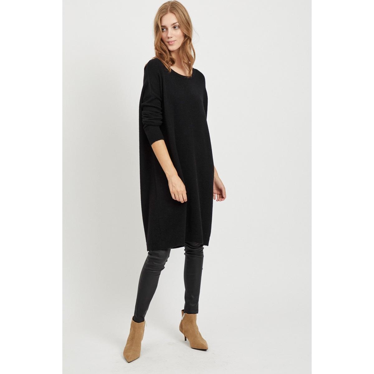 viril l/s knit tunic-fav nx 14055882 vila tuniek black