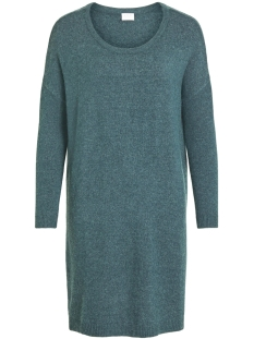Vila Tuniek VIRIL L/S KNIT TUNIC-FAV NX 14055882 China Blue/MELANGE