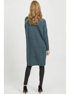 viril l/s knit tunic-fav nx 14055882 vila jurk china blue/melange