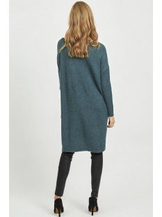 viril l/s knit tunic-fav nx 14055882 vila tuniek china blue/melange