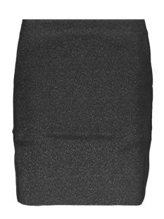onlsimone short skirt wvn 15191135 only rok black/leo jacquard