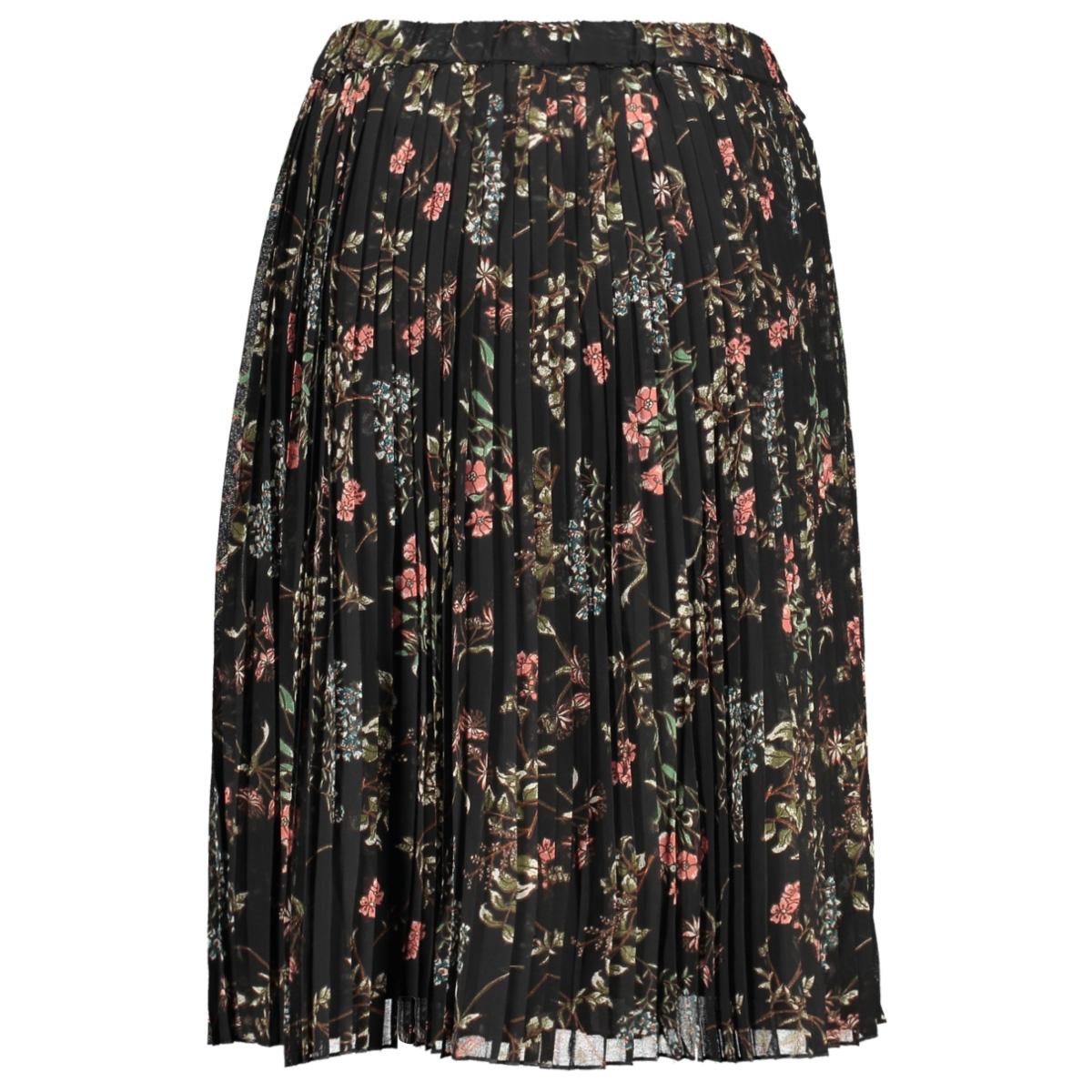 vmjulie hw blk plisse skirt wvn 10225613 vero moda rok black/aopjulie
