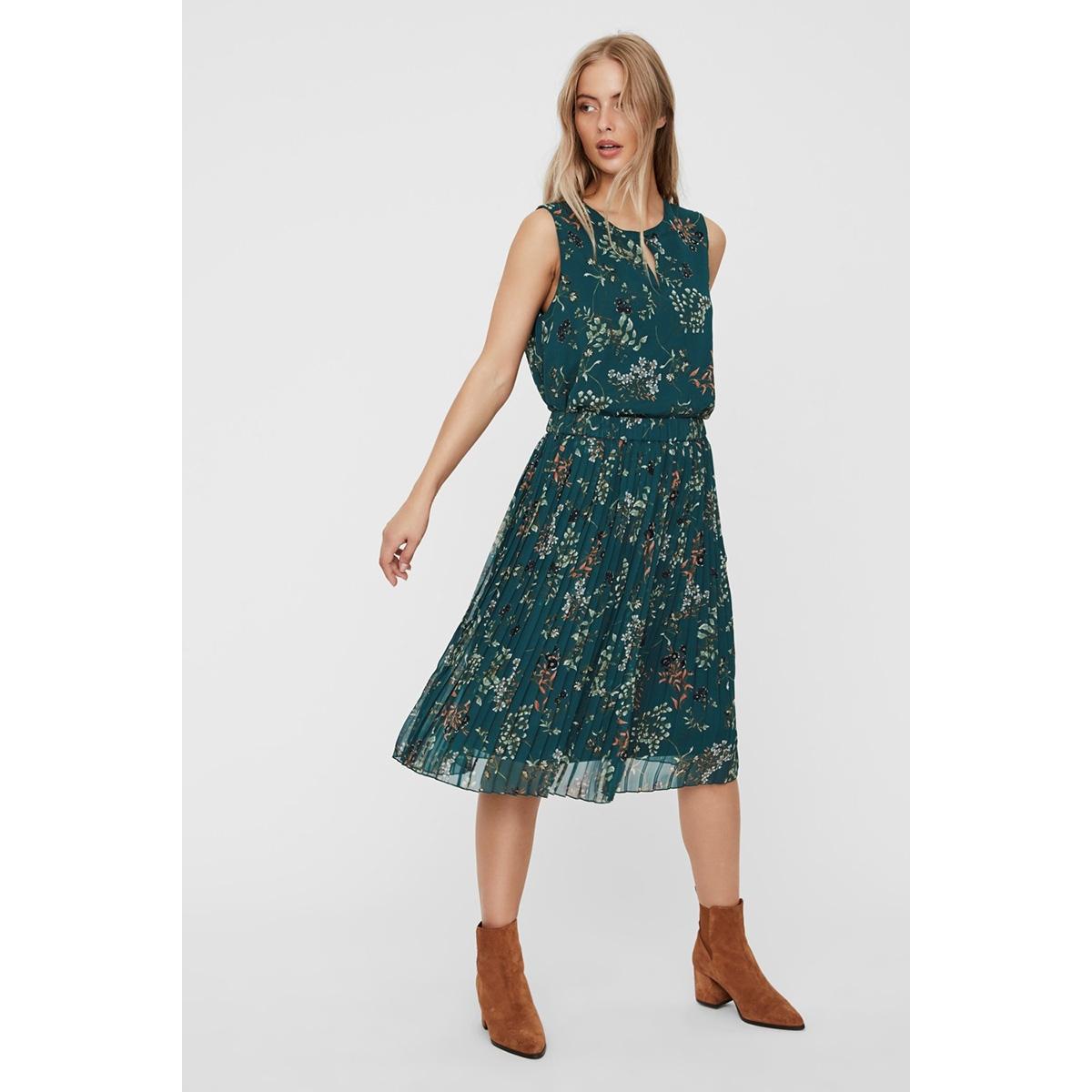 vmjulie hw blk plisse skirt wvn 10225613 vero moda rok atlantic deep/aopjulie