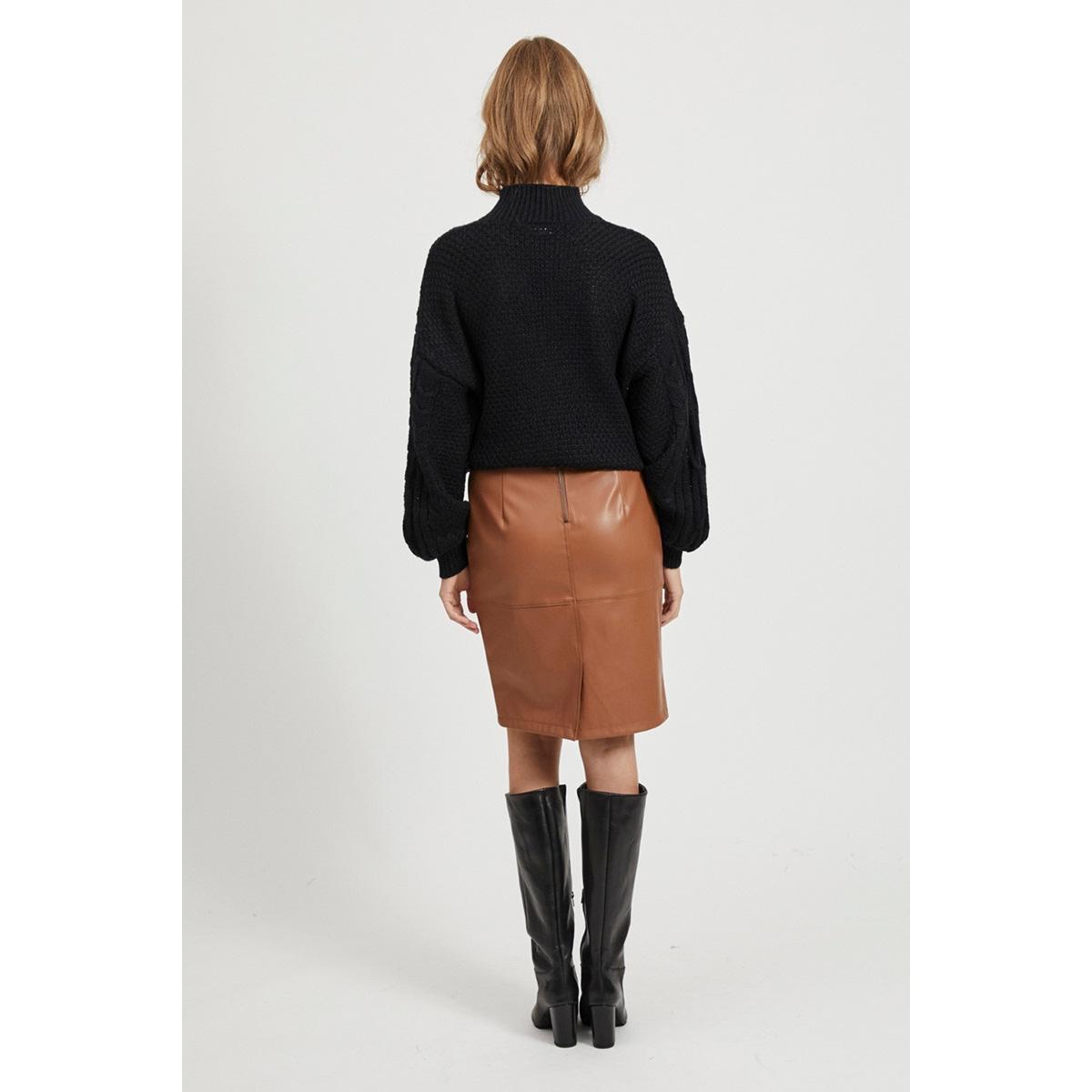 vipen new skirt noos 14033417 vila rok rawhide