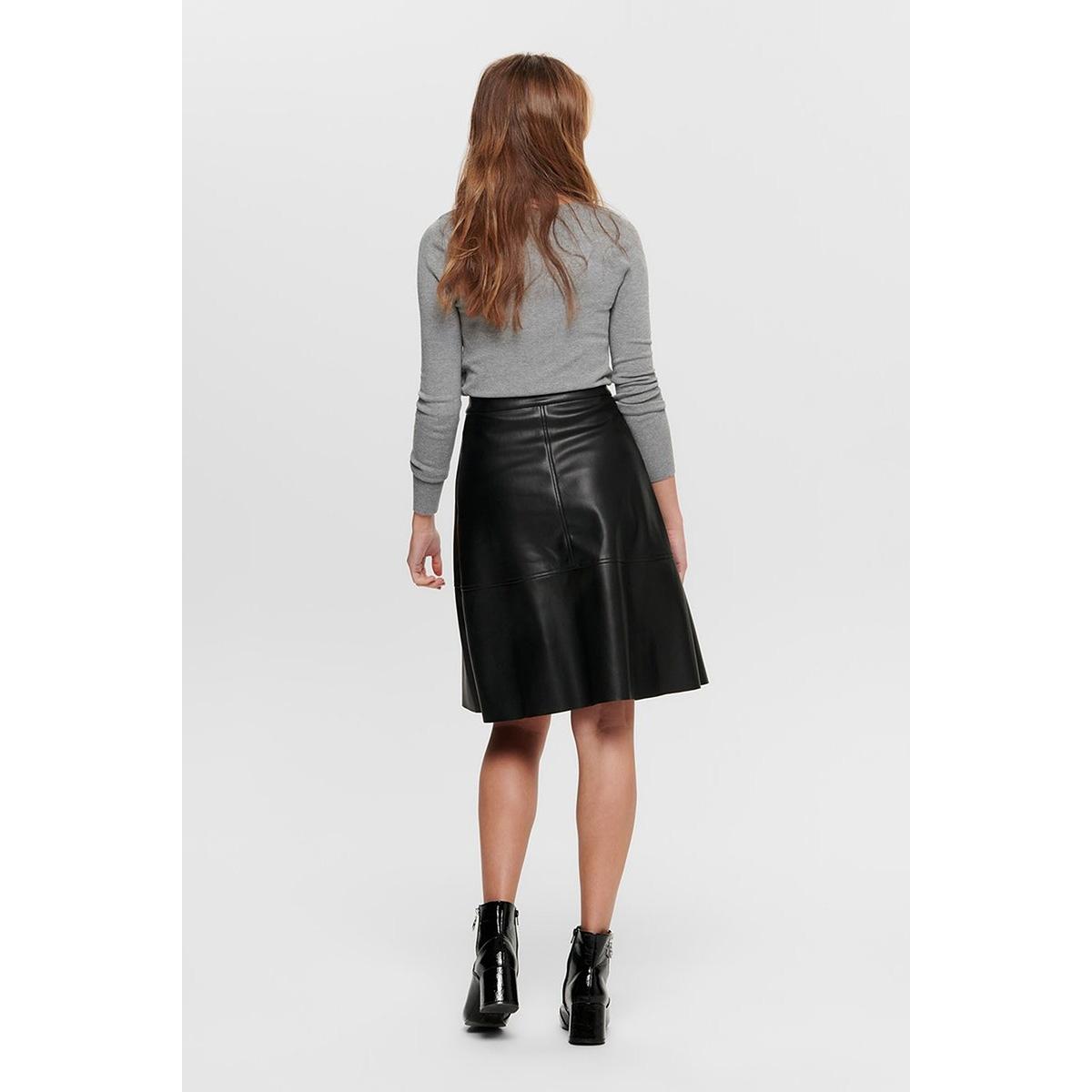 jdyhill button pu skirt denim otw s 15197305 jacqueline de yong rok black