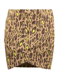 Only Rok ONLVIGGA LEO SKIRT JRS 15200382 Toasted Coconut/COOL LEO 1