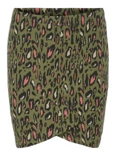 Only Rok ONLVIGGA LEO SKIRT JRS 15200382 Martini Olive/COOL LEO 2