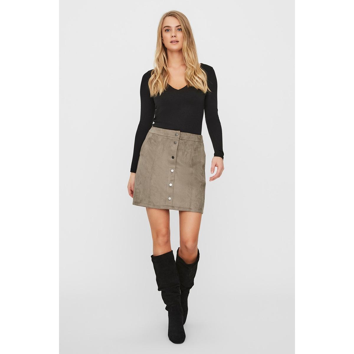vmdonnaray fauxsuede short skirt no 10222756 vero moda rok bungee cord