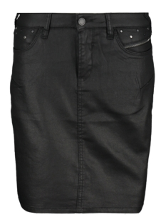 Geisha Rok SHORT SKIRT COATED 96507 10 Black