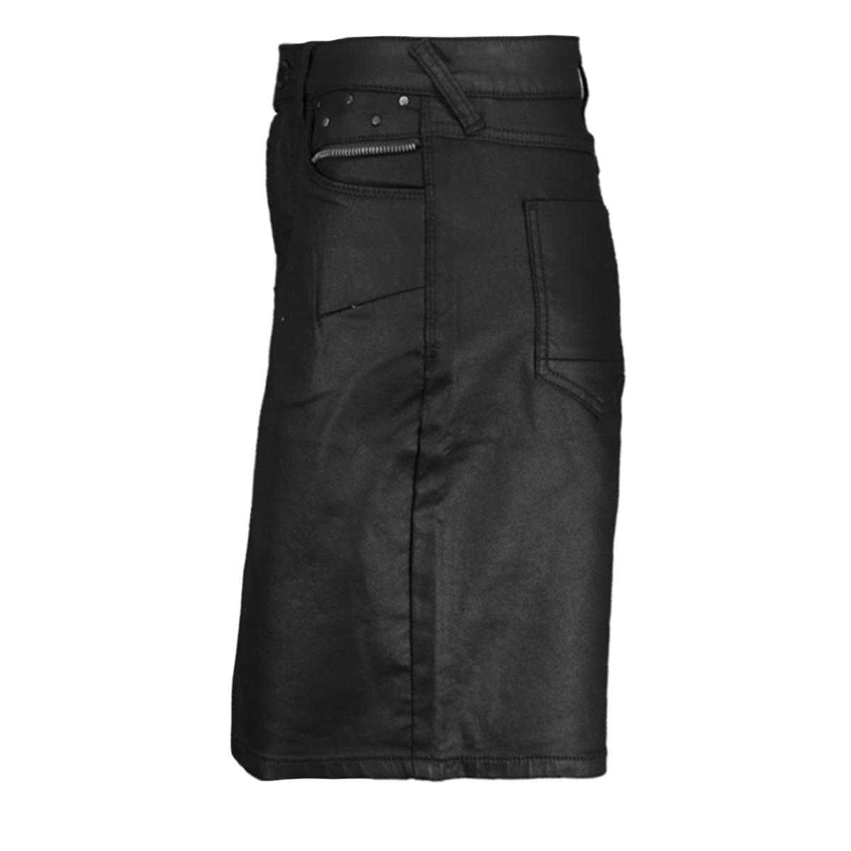 short skirt coated 96507 10 geisha rok black