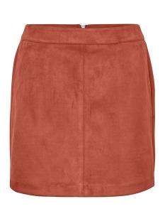 vmdonnadina faux suede short skirt 10210432 vero moda rok bruschetta