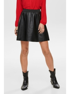 Jacqueline de Yong Rok JDYSTELLA FAUX LEATHER SKIRT OTW SI 15193977 Black