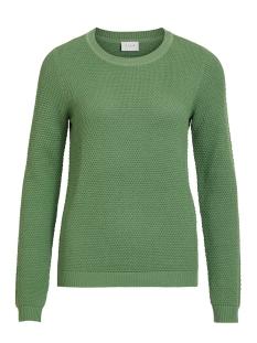 vichassa l/s knit top-noos 14041979 vila trui loden frost