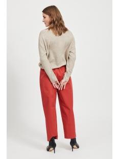objglenda l/s knit pullover a q 23033025 object trui humus