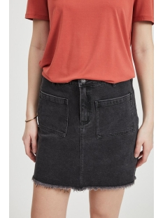 Object Rok OBJGRACIE BLACK DENIM SKIRT PB7 23031388 Black