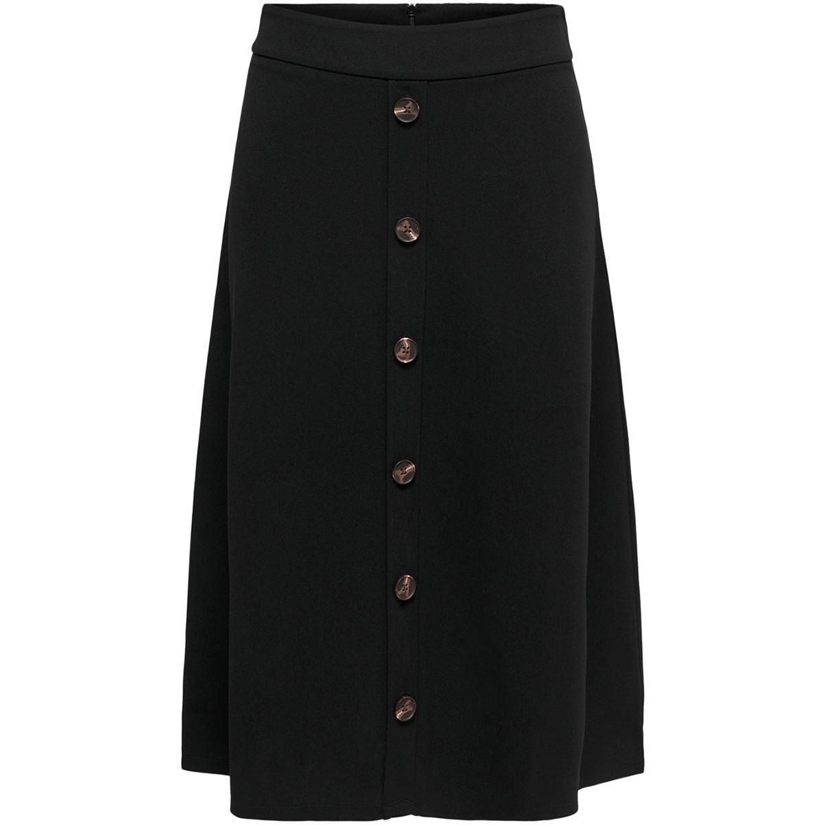 jdybellis button skirt jrs 15179719 jacqueline de yong rok black