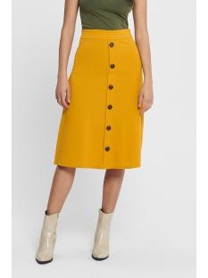 Jacqueline de Yong Rok JDYBELLIS BUTTON SKIRT JRS 15179719 Golden Yellow