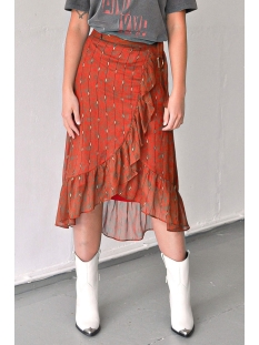 lizzy skirt ss20x002 harper & yve rok spicy orange print