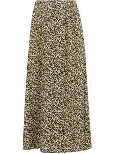 rose maxi skirt sss2008 ydence rok black flower print