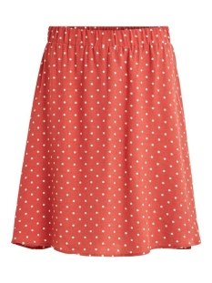 Vila Rok VIPRIMERA SKIRT-FAV LUX 14055568 Dusty Cedar/SNOW WHITE