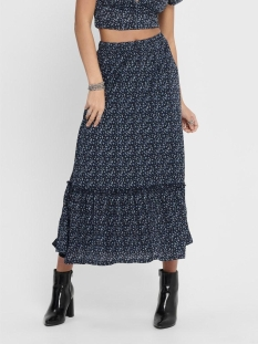 onlpella skirt jrs 15202185 only rok night sky/route dits