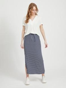 videll maxi skirt-noos 14054664 vila rok navy blazer/snow white