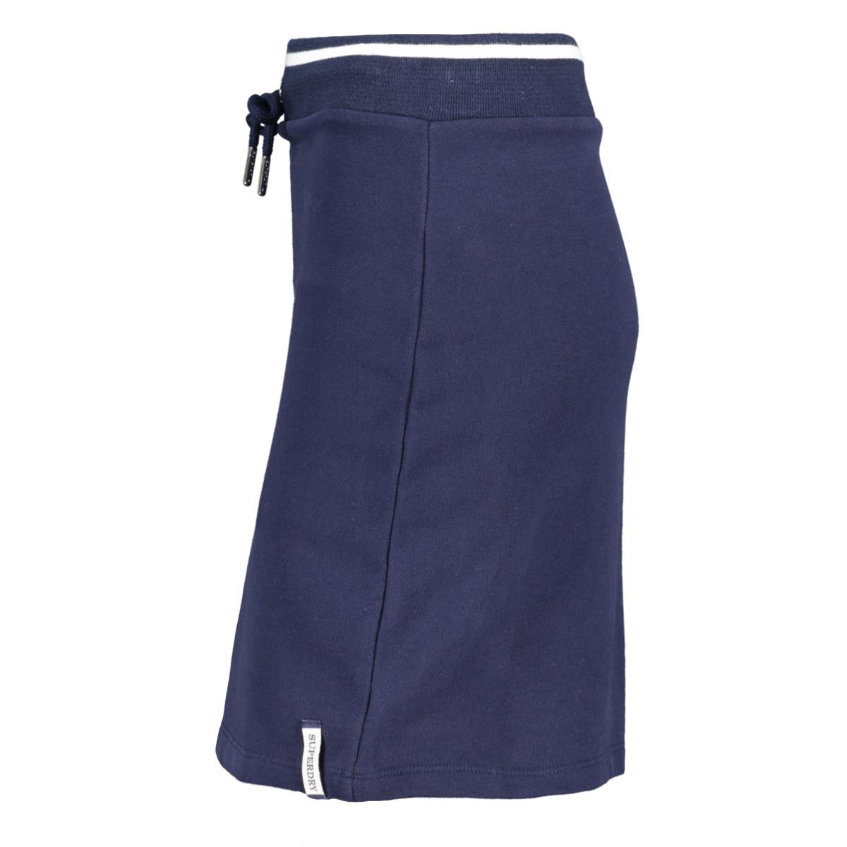 summer sweat skirt w7210022a superdry rok atlantic navy