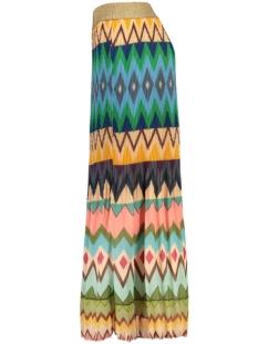 rok plisse aztec 7302 turquoise rok multicolour
