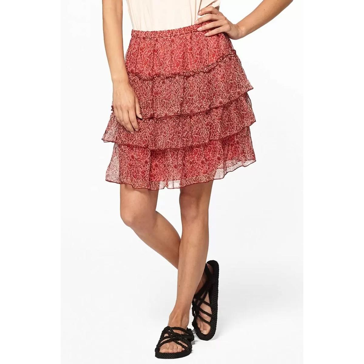 portta skirt s20 41 circle of trust rok 3055 red tree