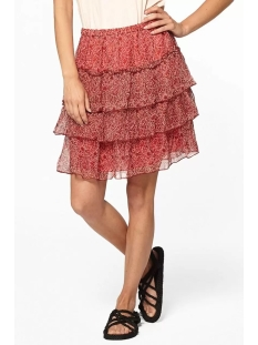Circle of Trust Rok PORTTA SKIRT S20 41 3055 RED TREE