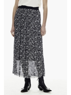 Garcia Rok PLISSE ROK MET ALL OVER PRINT GE000305 60 Black