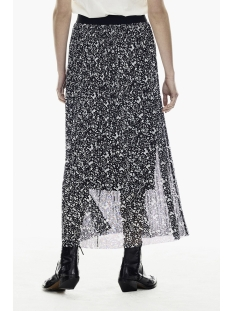 plisse rok met all over print ge000305 garcia rok 60 black