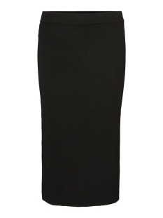 Noisy may Rok NMELIAS NW CALF KNIT SKIRT 27012307 Black