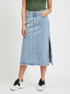 Object Rok OBJIRIS DENIM SKIRT REP 23029523 Light Blue Denim