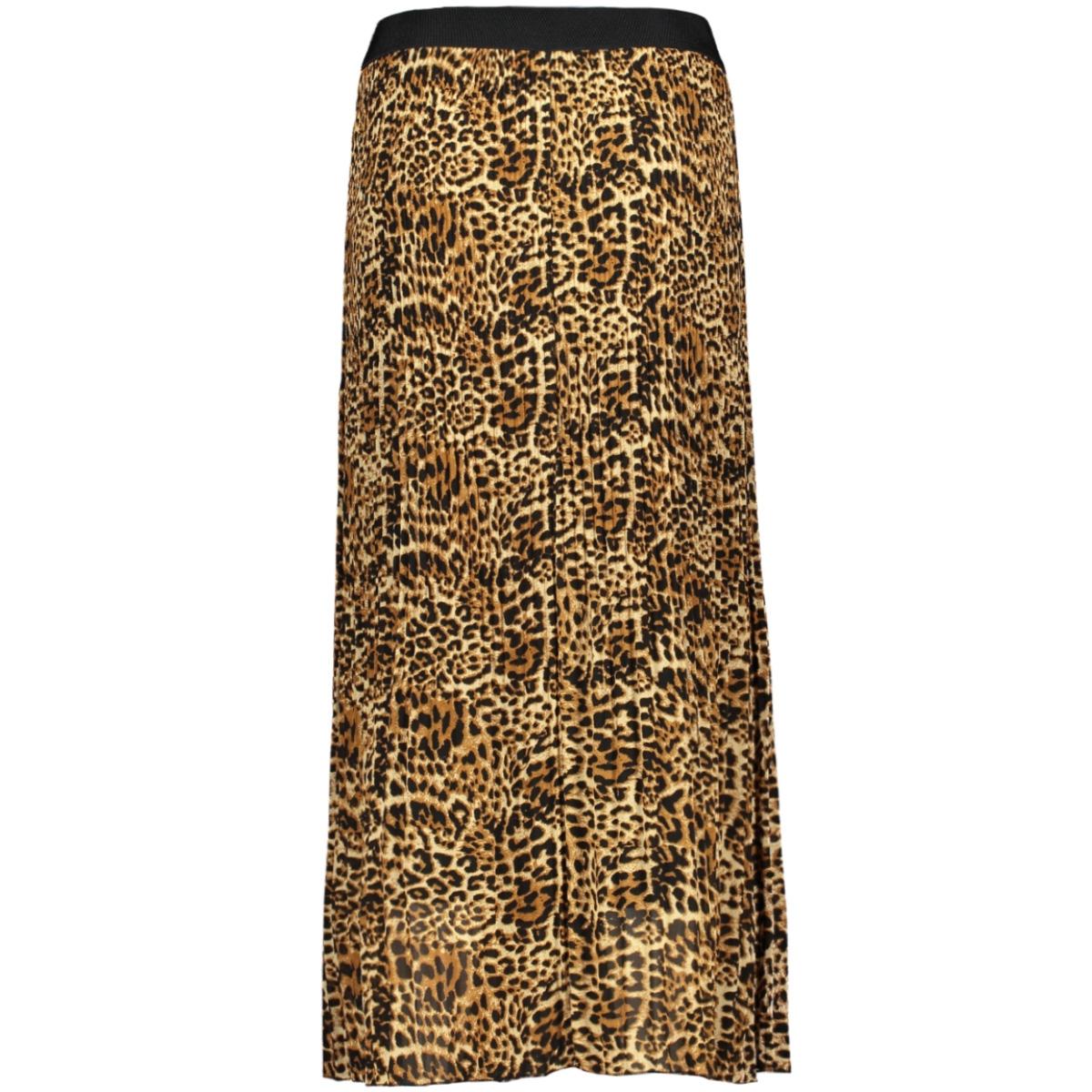 plissé  rok 7681 iz naiz rok big leopard camel