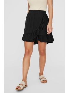 vmodette hw short wrap skirt ga 10230448 vero moda rok black