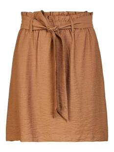 Pieces Rok PCNYKKE HW SKIRT 17101967 Toasted Coconut