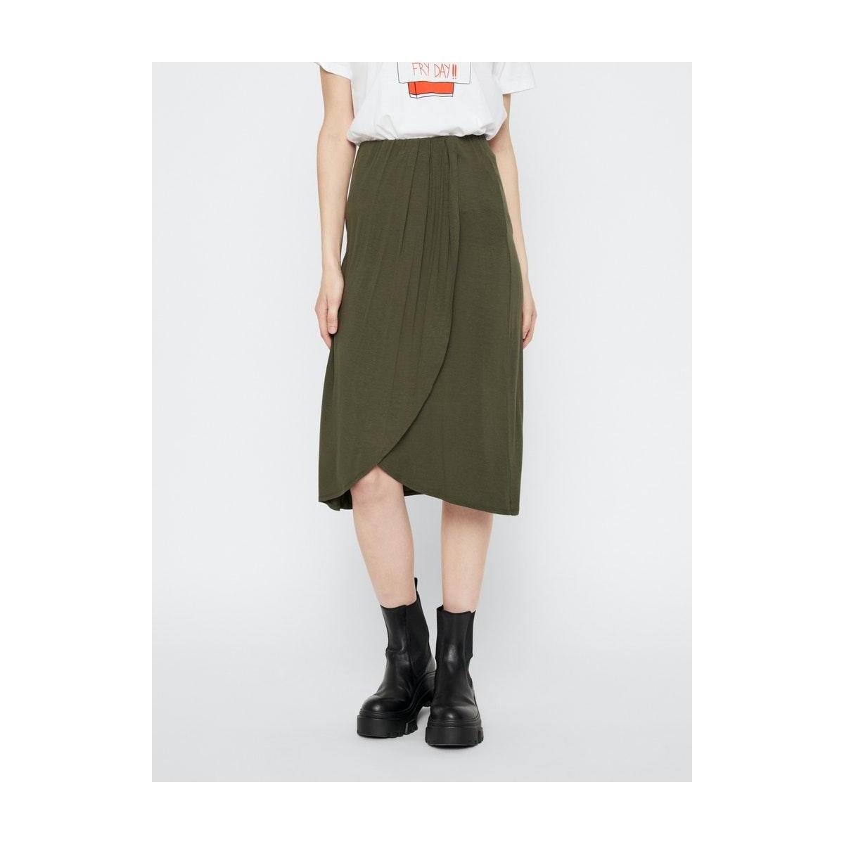pcneora hw skirt sww 17102001 pieces rok forest night