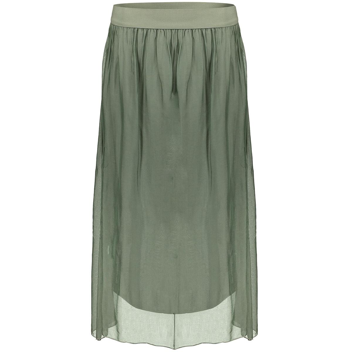skirt silk with elastic waist 06051 70 geisha rok army
