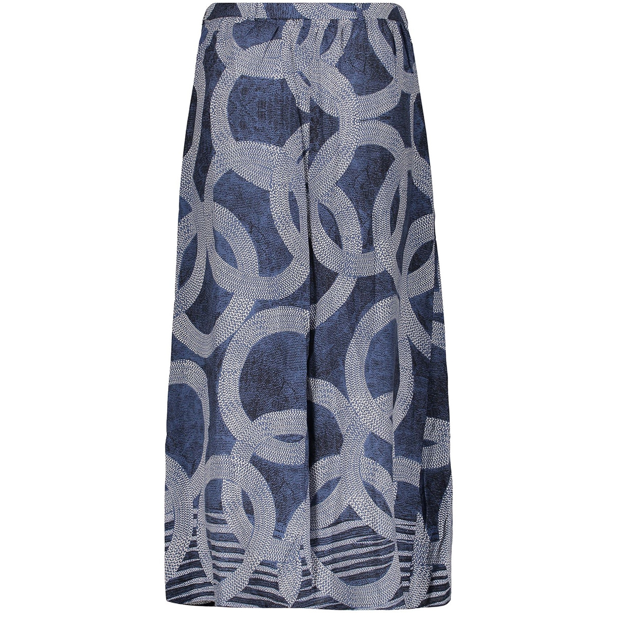 skirt aop circle 06061 40 geisha rok blue