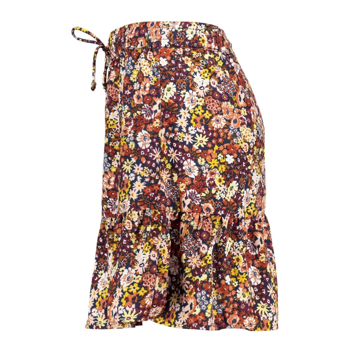 onleula life waist short skirt wvn 15204698 only rok burnt henna/garden dit