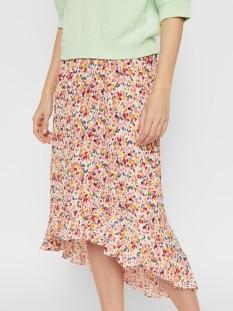 pcmayrin hw midi skirt 17104712 pieces rok misty rose/flower