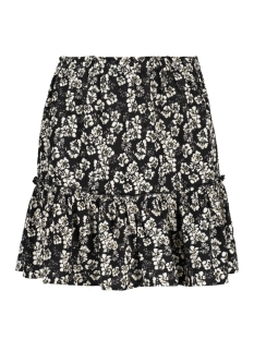 Geisha Rok SKIRT LAYERS GOLD FOIL 06351 20 Black/Off-White/Gold combi
