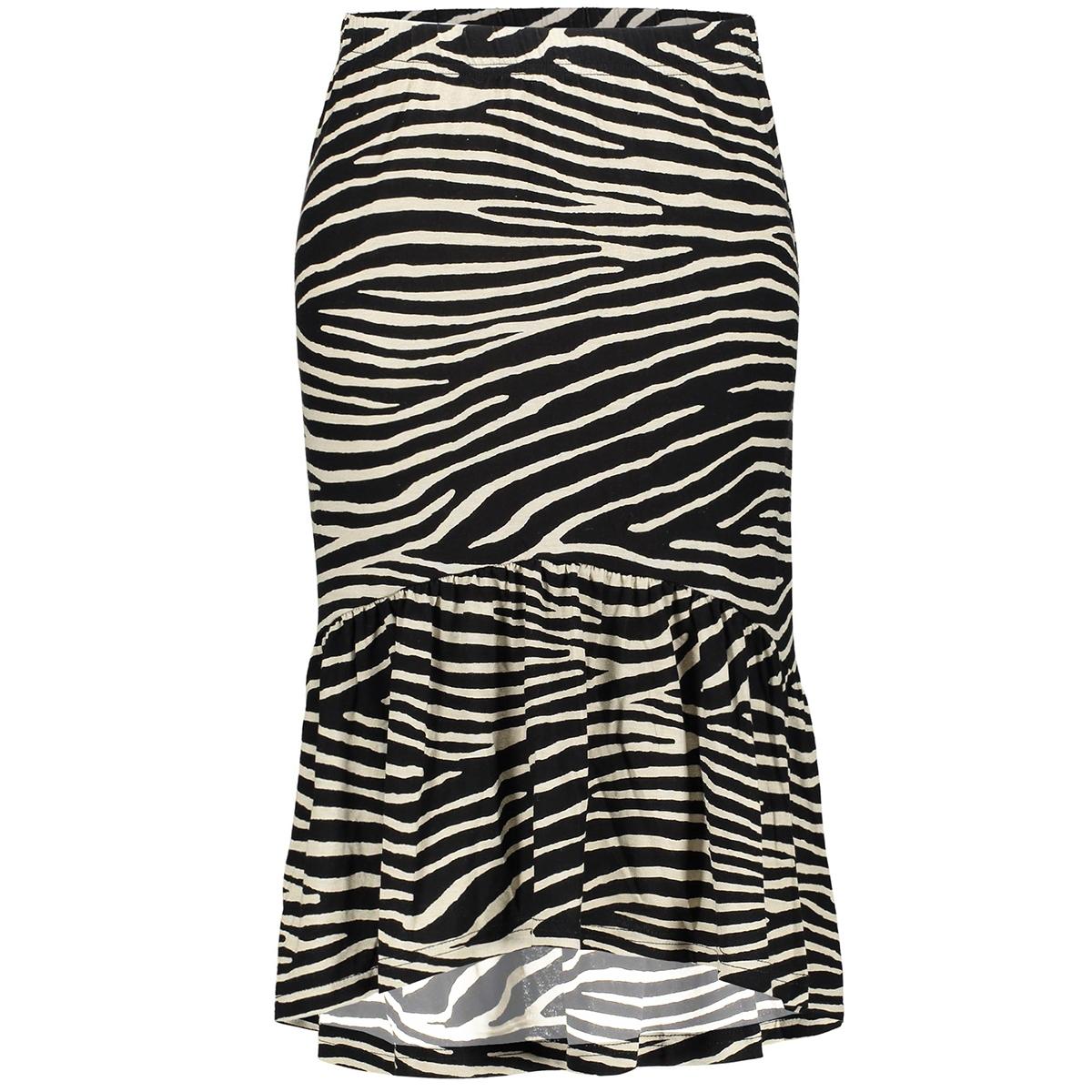 skirt 34 zebra 06356 20 geisha rok black/off white combi