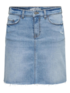 jdykarl life short skirt lb dnm 15204455 jacqueline de yong rok light blue denim