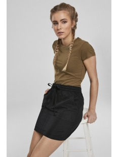Urban Classics Rok VISCOSE TWILL SKIRT TB3428 BLACK