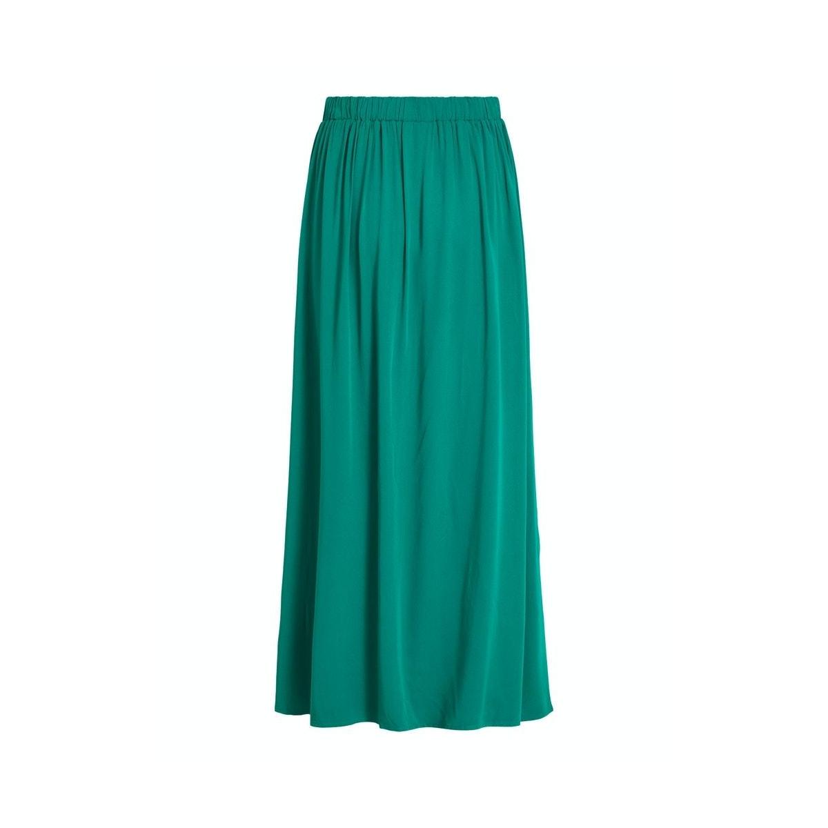 visuvita hw ancle skirt/su 14057641 vila rok ultramarine green